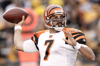 The signing of Bruce Gradkowski solidified the backup quarterback position for several seasons.