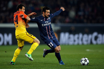 Lavezzi was sensational against Barcelona but has to learn to take any and every chance that comes along.