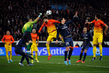 Valdes was still commanding despite conceding two soft goals.