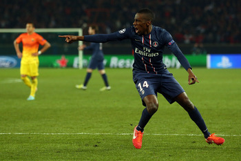 Matuidi's goal is no less than he has deserved for endless consistency, hard work and the passion he pours into his performances.