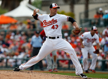 After saving 51 games last season for the Orioles, closer Jim Johnson has already notched his first save in 2013.
