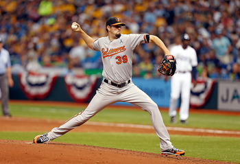 Orioles' pitcher Jason Hammel made a strong outing despite not having his best stuff.
