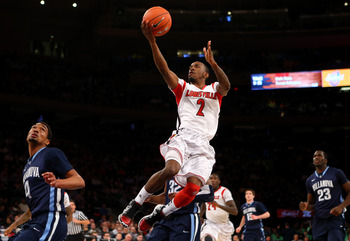 Louisville junior Russ Smith is on a tear in the tournament.