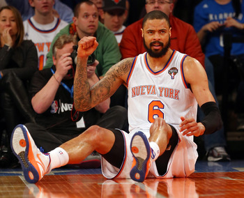 New York's Tyson Chandler