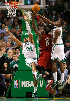 Pierce (left) and Green (right) have made life tough for opponents on both ends of the floor.