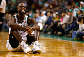 At 36, Garnett can't be expected to shoulder the load alone.
