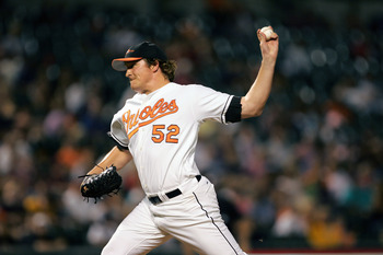 Orioles reliever B.J. Ryan spent seven years in Baltimore, but he saw his best seasons between 2003 and 2005.