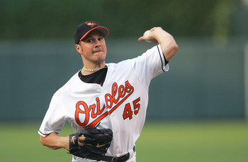 Orioles pitcher Erik Bedard posted his best season with the Birds in 2007.