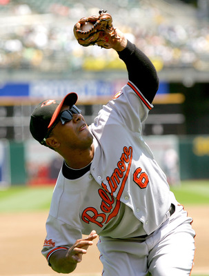 During his time with the Orioles, Melvin Mora was a model of consistency.