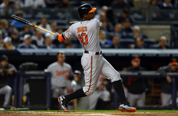 After being traded to the Orioles in 2006, center fielder Adam Jones has become the face of the Orioles franchise.