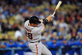 Buster Posey is the 2012 NL MVP.