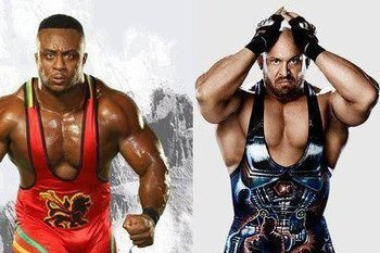How will Ryback and Big E Langston fare in their WrestleMania debuts? (photo courtesy of facebook.com)