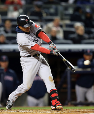 Jose Iglesias managed to hit the ball out of the infield in game two.