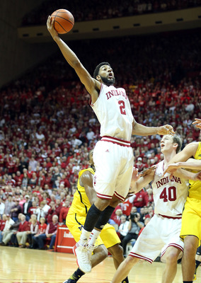 Christian Watford driving the ball in against Michigan