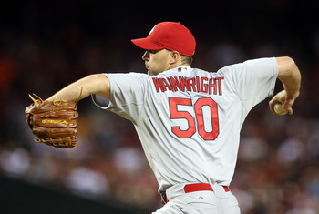 Adam Wainwright began the 2013 season with a loss to the Diamondbacks.