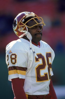 The greatest Redskin of all time, Darrell Green.