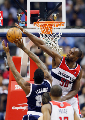 Center Emeka Okafor currently leads the Wizards in rebounds and blocks per game, which is only part of Washington's sixth-ranked defense.