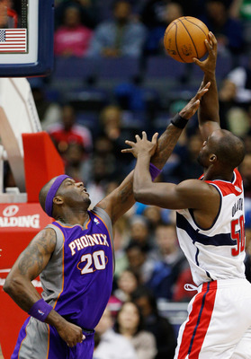 Center Emeka Okafor has been the most surprising player for Washington this season, producing on both offense and defense.