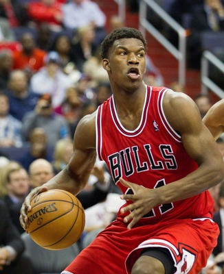 Jimmy Butler could start for the Bulls next season.