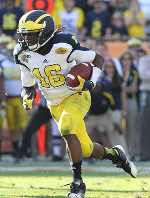 Robinson was a dual-threat quarterback for Michigan.