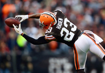 Joe Haden is one of the few recent success stories in Cleveland.