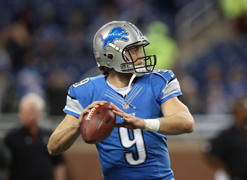 Matthew Stafford doesn't play defense.