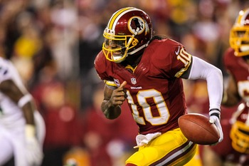 RG3 changed the course of a franchise.