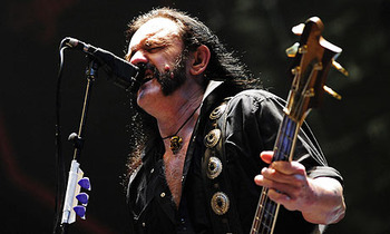 Lemmy from Motorhead (Photo: Clemens Bilan/AFP/Getty Images)