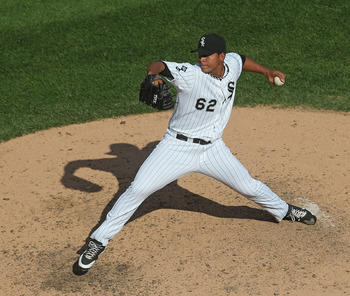Jose Quintana has quickly risen to be the No. 4 starter.