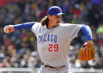 Jeff Samardzija has been nearly unhittable in 2013.