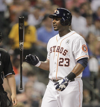 Chris Carter hasn't provided any offense for the Astros so far.