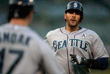 Mike Morse is loving his return to the Emerald City.