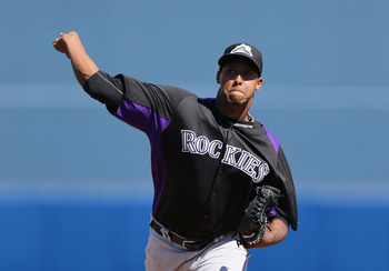 Juan Nicasio is healthy and dealing for the Rockies in 2013.