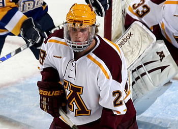 The Capitals signed defenseman Nate Schmidt last week. (WCHA)
