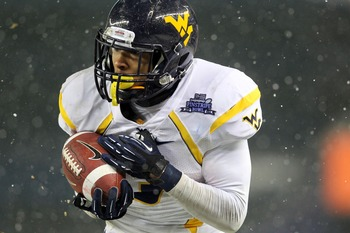 Maybe the Chiefs are targeting another West Virginia product in receiver Stedman Bailey.