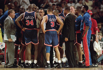 The 1993-1994 New York Knicks won 15 in a row and later wound up in the NBA Finals.
