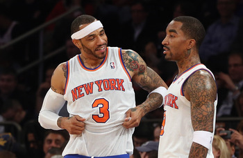 Kenyon Martin and J.R. Smith, without whom there would be no win streak.
