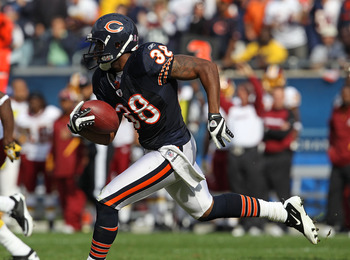 One of the Bears' many successful small-school draft picks, Danieal Manning was a hybrid-type defensive back, playing safety and lining up as a nickel cornerback at times.