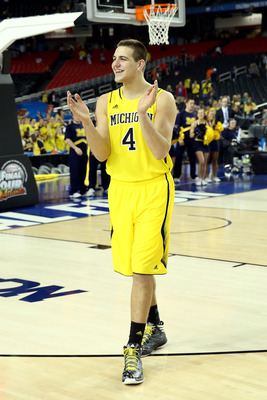 Mitch McGary excelled in every facet of his game on Saturday night.