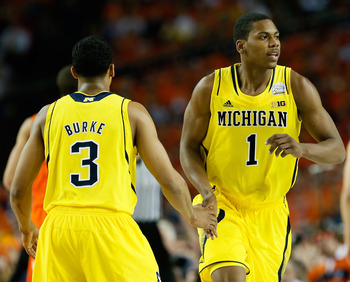 Glenn Robinson III played an efficient game to help the Wolverines escape the Orange.
