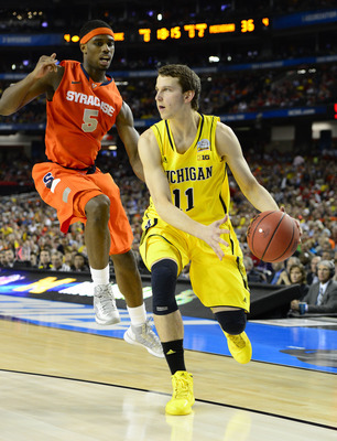Nik Stauskas struggled to find his shooting stroke on Saturday.