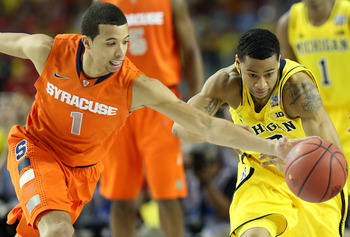 Trey Burke did not have his best game, but Michigan still came away with an important victory.