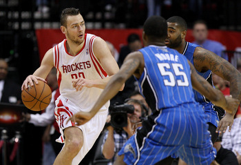 Houston Rockets' Donatas Motiejunas