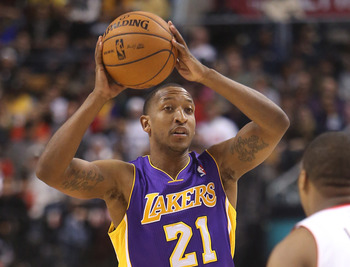 Los Angeles Lakers' Chris Duhon