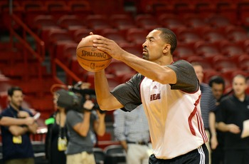Miami Heat's Juwan Howard