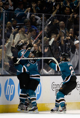 The San Jose Sharks are the league's hottest team.