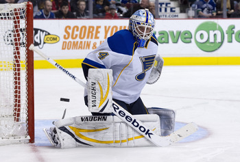 Jake Allen and the St. Louis Blues are back in the playoff picture in the West.