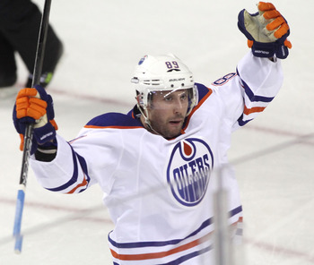 The Oilers rely heavily on Sam Gagner's offensive production.