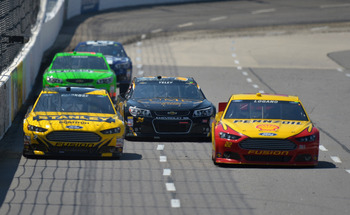 Joey Logano has run well this season and finds himself in the thick of the Chase race. Will he hold up?