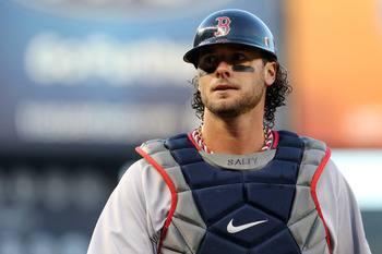 Jarrod Saltalamacchia's early season struggles continue.